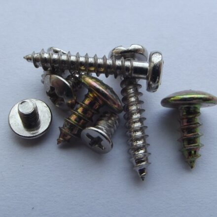 Machine screw: Provides Greater Strength to the Design