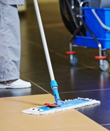 Contact Details Of The Cleaning Service
